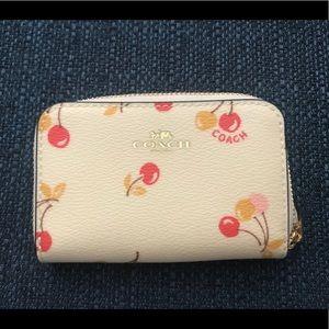 Coach Cherry coin purse